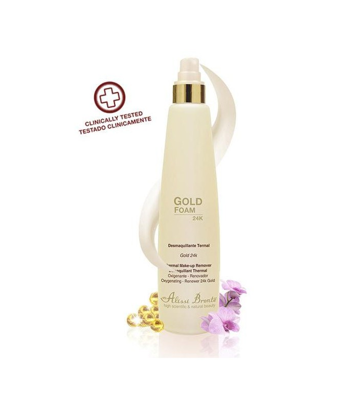 GOLD FOAM Desmaquillante Termal. 400 ml.