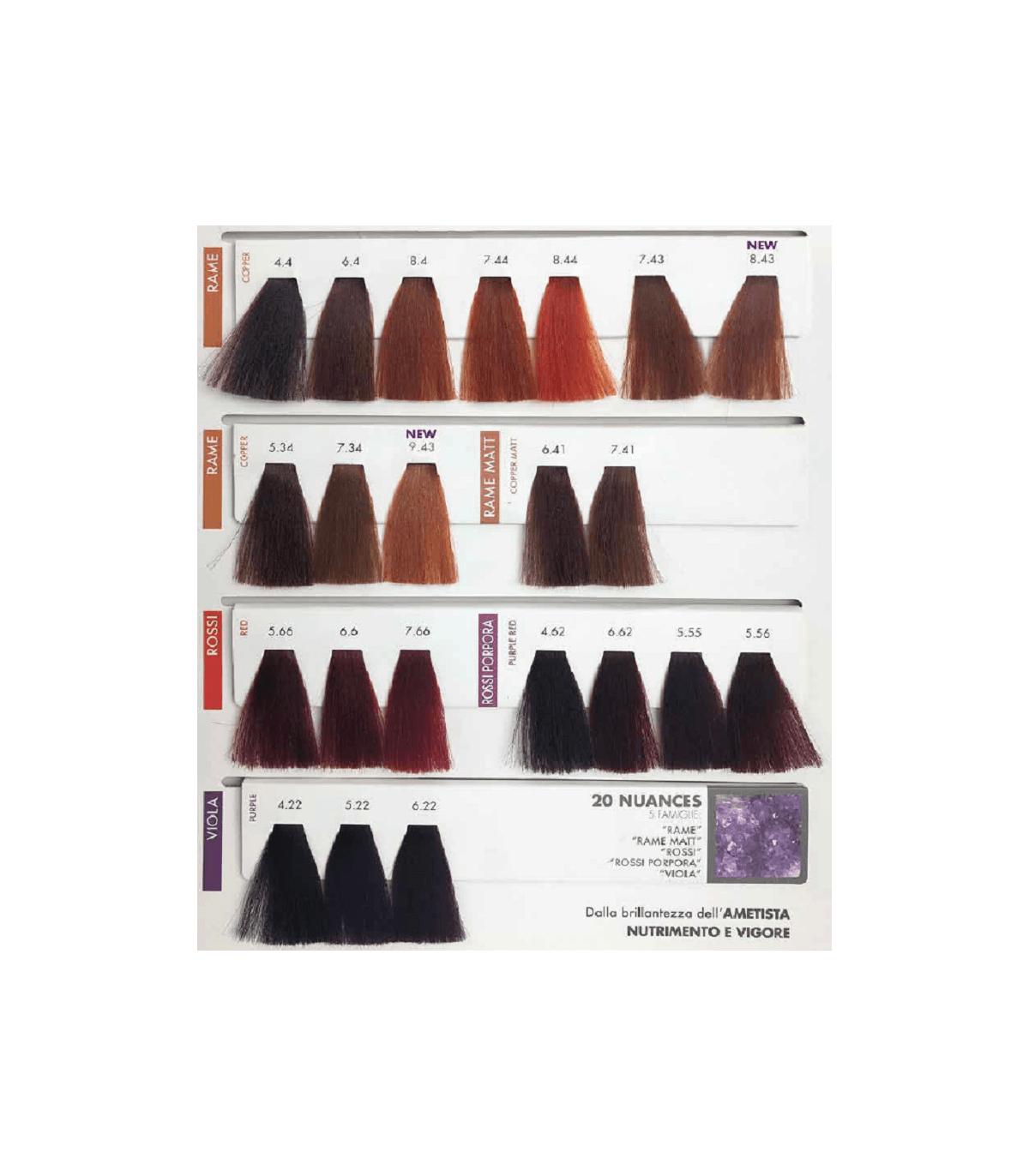 Carta de color Cobre Rojos Violeta
