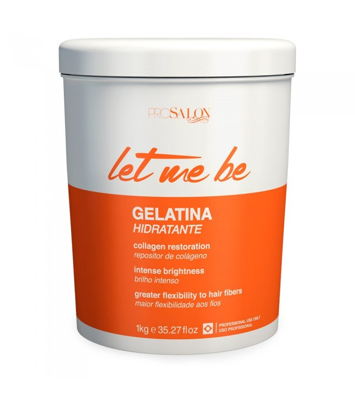 Gelatina Hidratante Let Me Be 1Kg