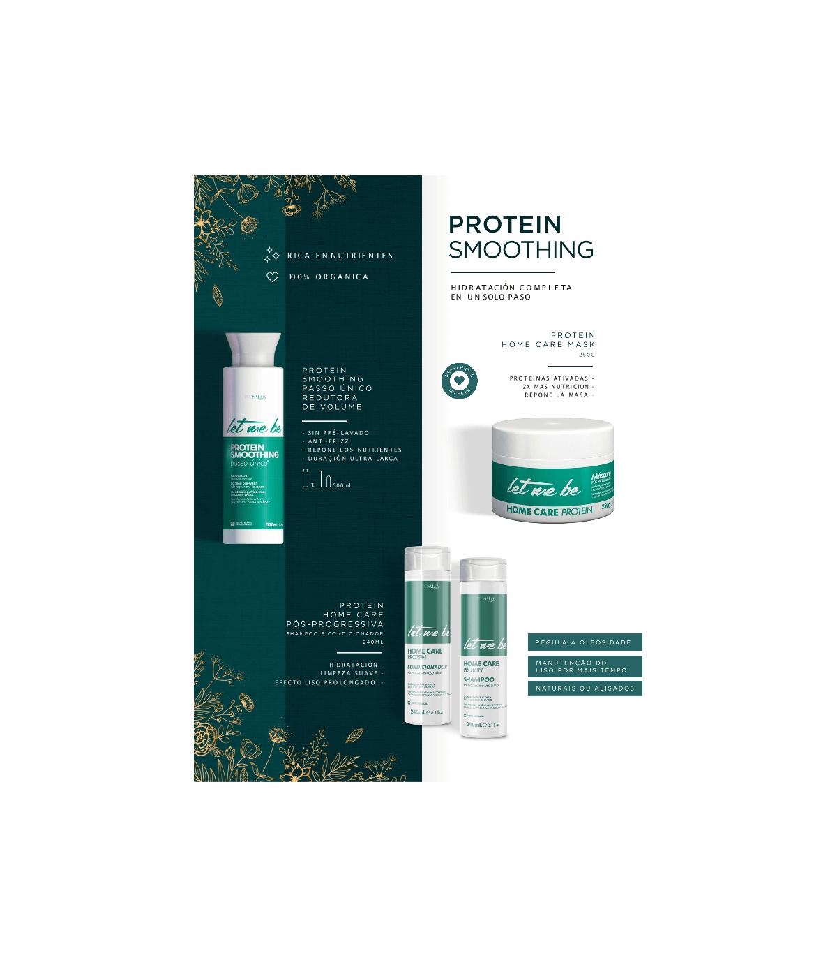 Mascarilla protein Letmebe 250ml