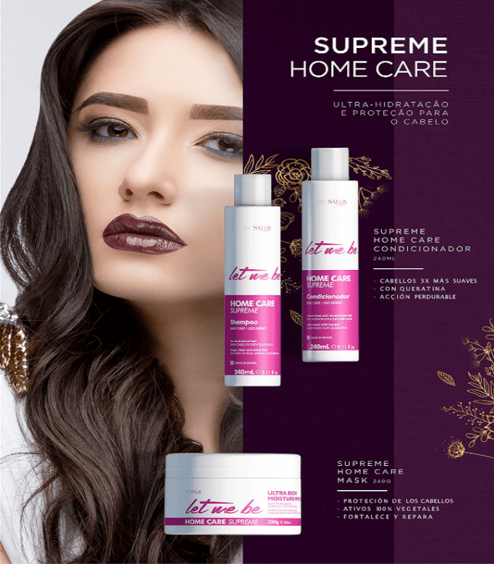 Kit Mantenimiento Supreme Liss (SH+COND+MASK)
